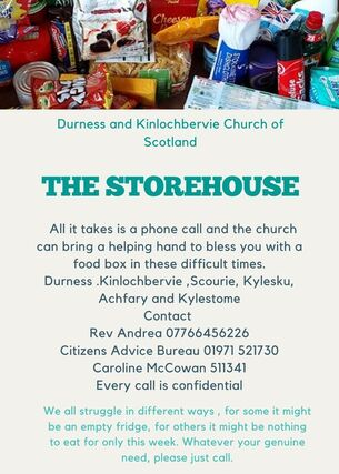 poster for Storehouse Rev Andrea 07766456226
